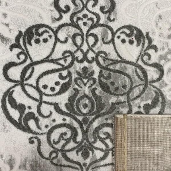 Акрилен килим - Елегант 9078 Сив - детайл - 3