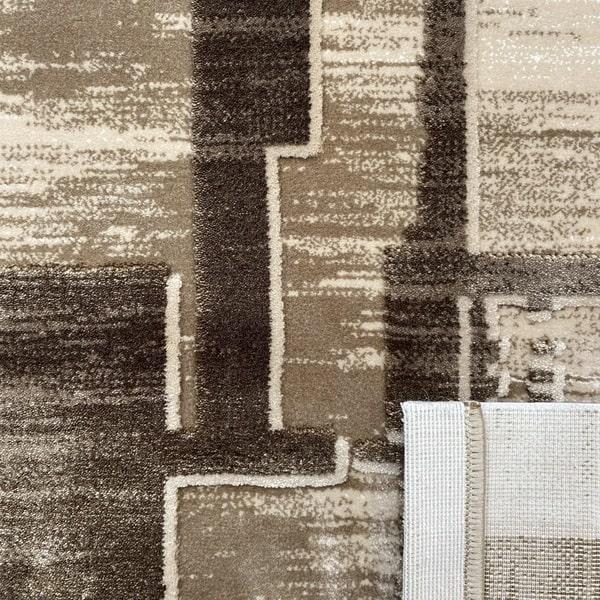 Акрилен килим - Вега 2219 Кафяв - детайл - 3