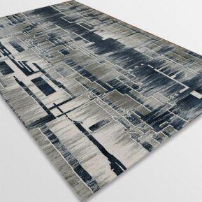Акрилен килим - Вега 2219 Син