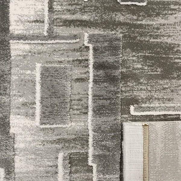 Акрилен килим - Вега 2219 Сив - детайл - 3