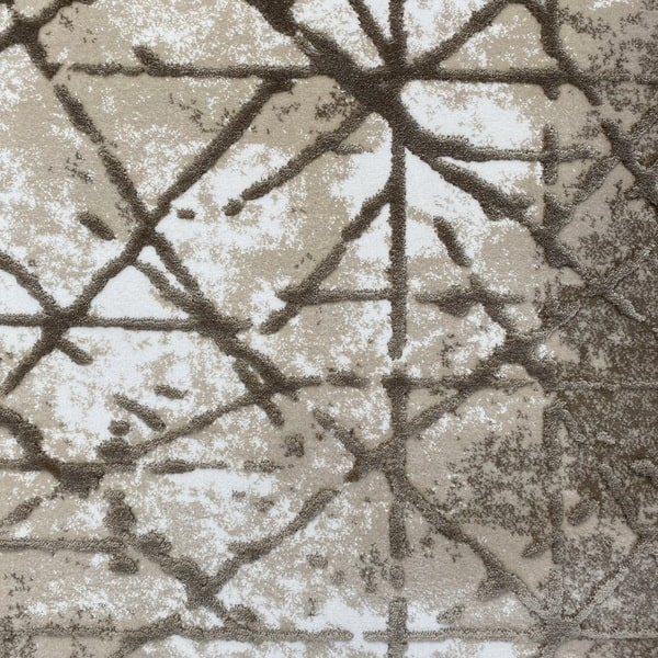 Акрилен килим - Вега 3949 Бежов - детайл - 1