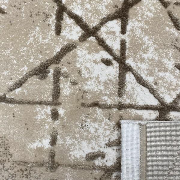 Акрилен килим - Вега 3949 Бежов - детайл - 3