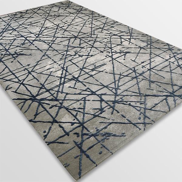 Акрилен килим - Вега 3949 Син