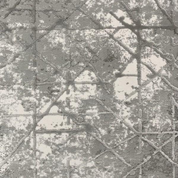 Акрилен килим - Вега 3949 Сив - детайл - 1