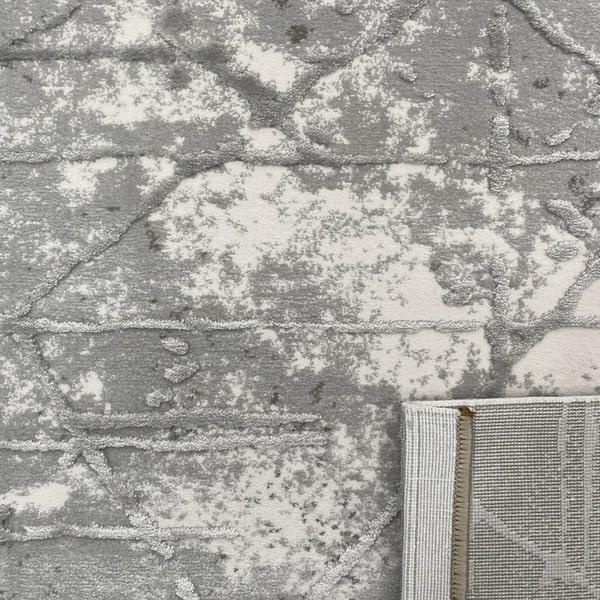 Акрилен килим - Вега 3949 Сив - детайл - 3