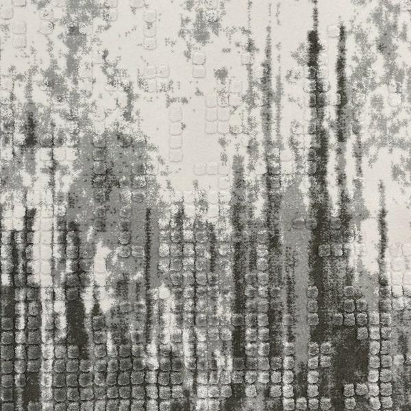 Акрилен килим - Вега 8376 Сив - детайл - 1