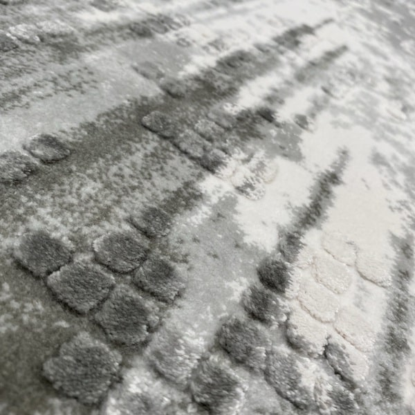Акрилен килим - Вега 8376 Сив - детайл - 2