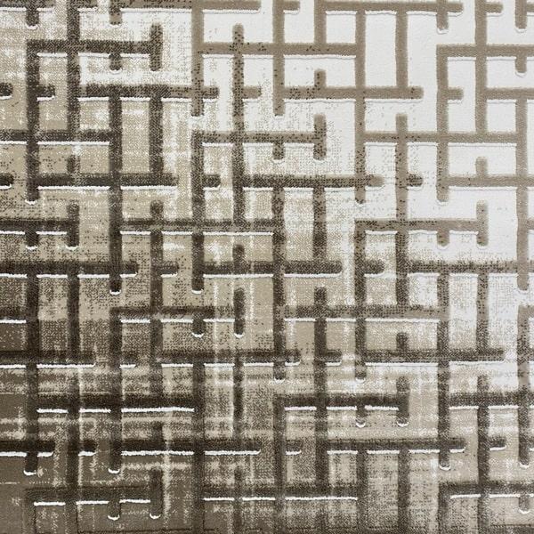 Акрилен килим - Вега 8378 Бежов - детайл - 1