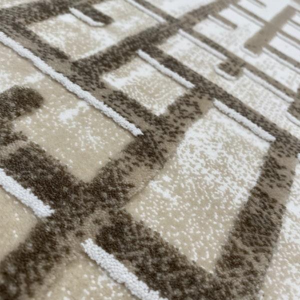 Акрилен килим - Вега 8378 Бежов - детайл - 2