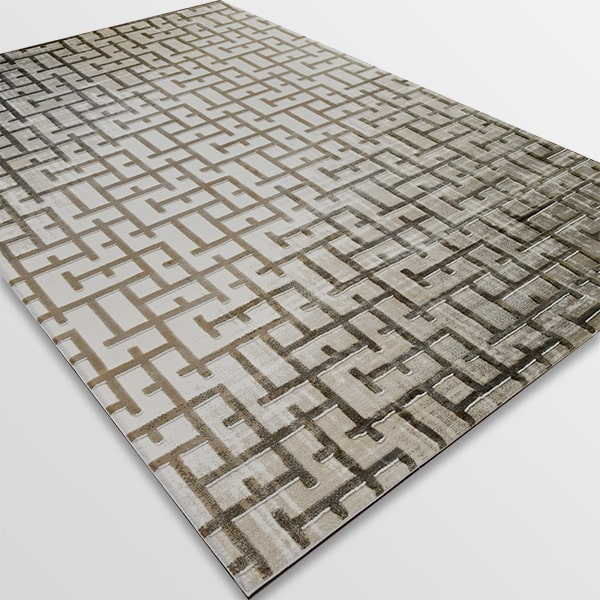 Акрилен килим - Вега 8378 Бежов