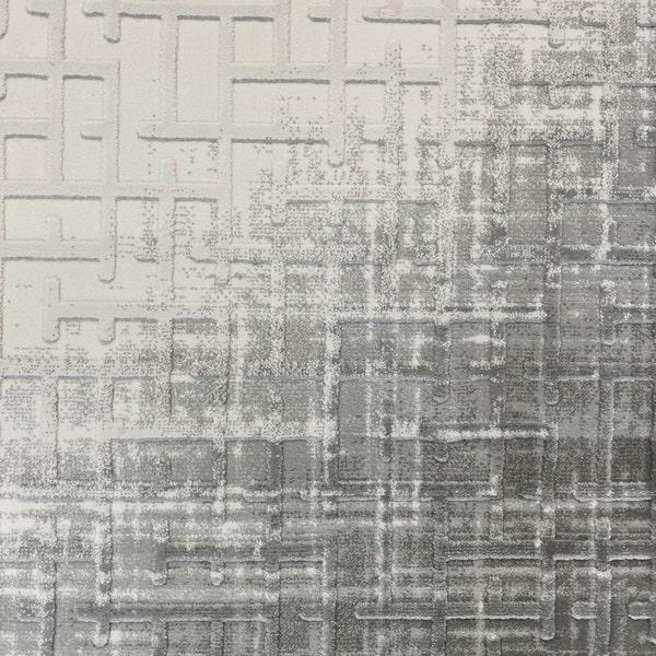 Акрилен килим - Вега 8378 Сив - детайл - 1