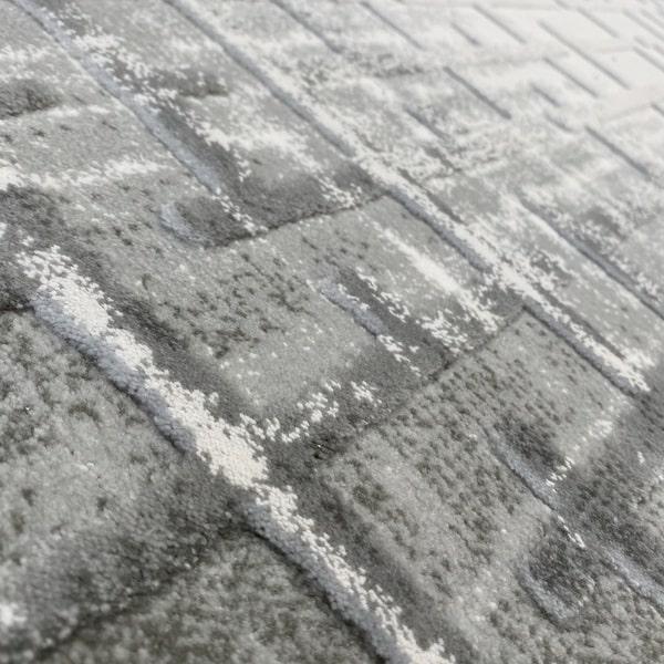 Акрилен килим - Вега 8378 Сив - детайл - 2
