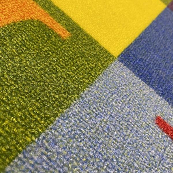Детски килим – Азбука - детайл - 2