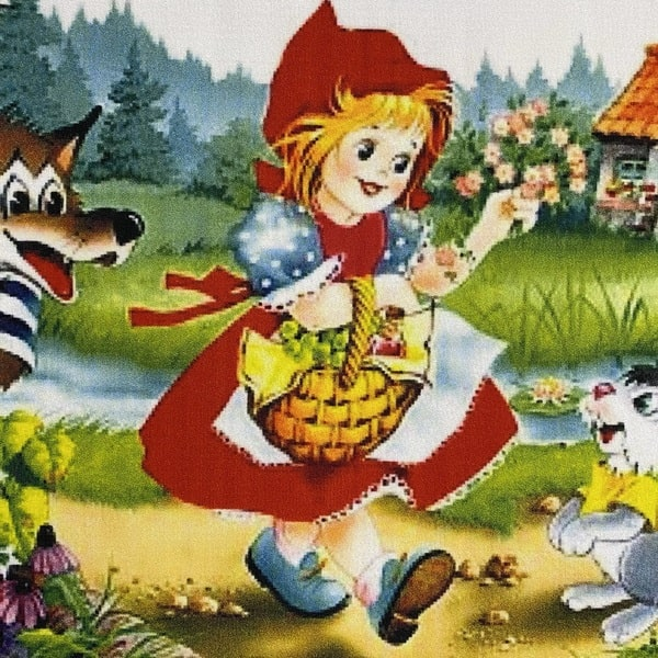 Детски килим – Червената Шапчица - детайл - 1