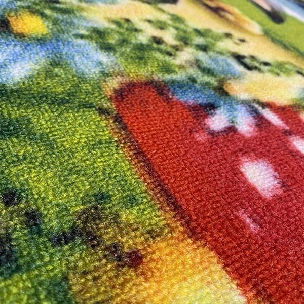 Детски килим – Червената Шапчица - детайл - 2