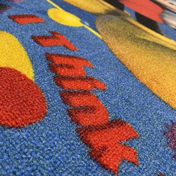 Детски килим – Мики Маус 14 - детайл - 2
