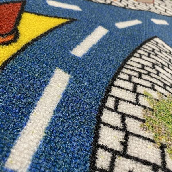 Детски килим – Трафик - детайл - 2