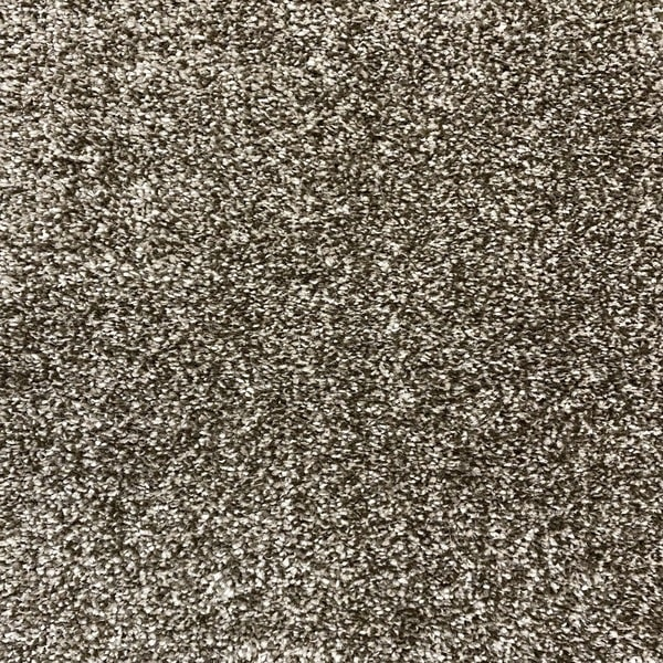 Едноцветен килим - Бела Кафяв - детайл - 1