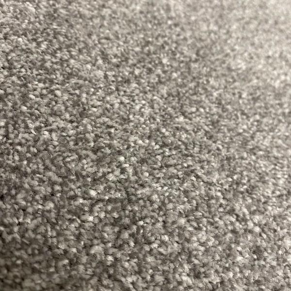 Едноцветен килим - Бела Сив - детайл - 2