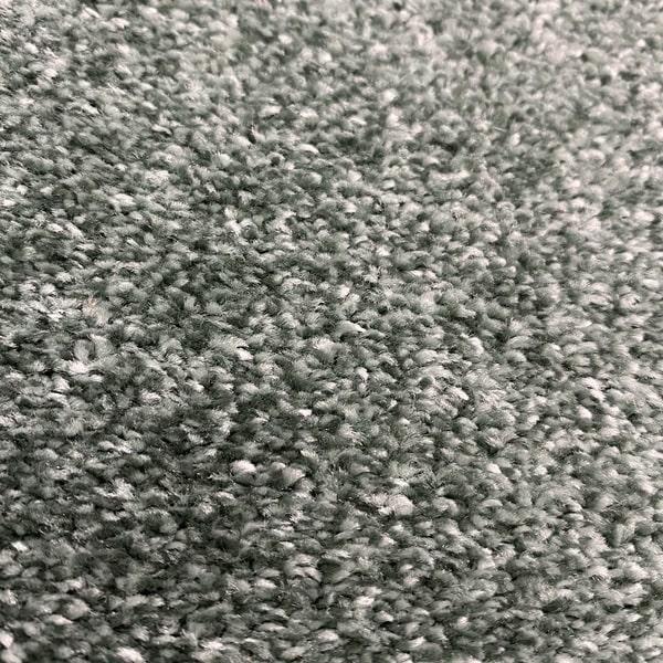 Едноцветен килим - Бела Зелен - детайл - 2