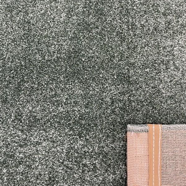 Едноцветен килим - Бела Зелен - детайл - 3