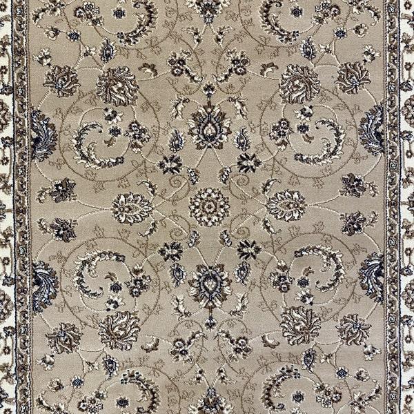 Класически килим – Корона 1803 Бежов - детайл - 1