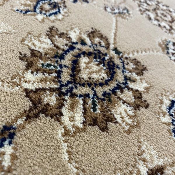 Класически килим – Корона 1803 Бежов - детайл - 2