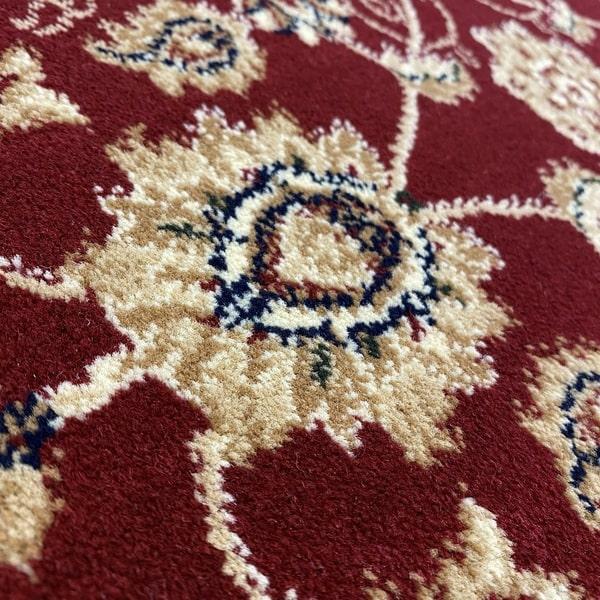 Класически килим – Корона 1803 Червен - детайл - 2