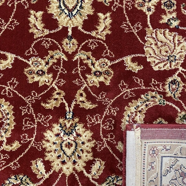 Класически килим – Корона 1803 Червен - детайл - 3