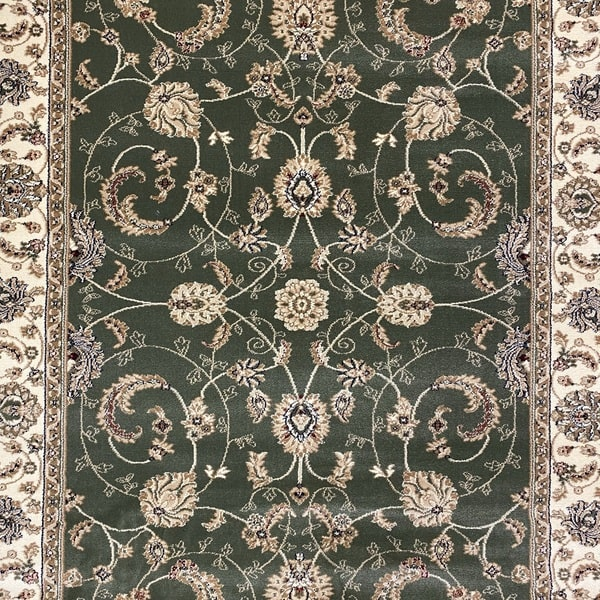 Класически килим – Корона 1803 Зелен - детайл - 1