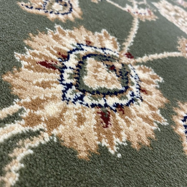 Класически килим – Корона 1803 Зелен - детайл - 2