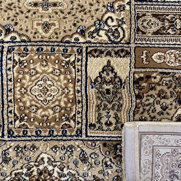 Класически килим – Корона 268 Бежов - детайл - 3