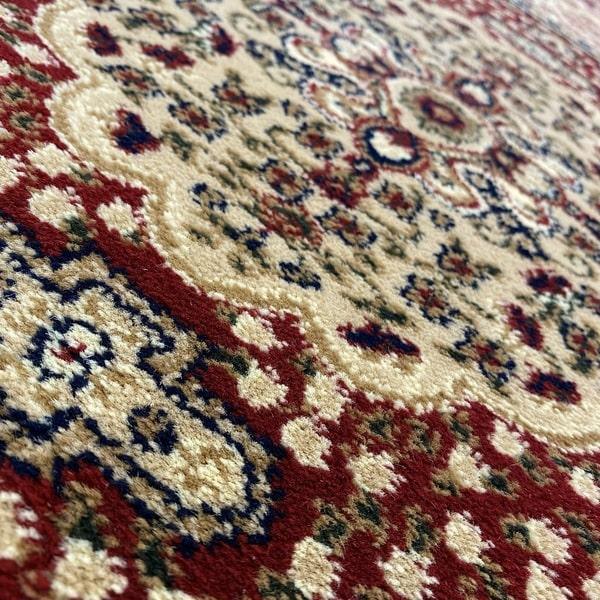 Класически килим – Корона 268 Червен - детайл - 2