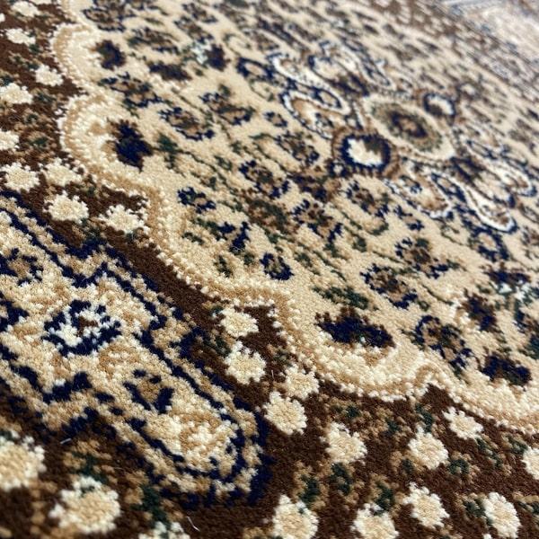 Класически килим – Корона 268 Кафяв - детайл - 2