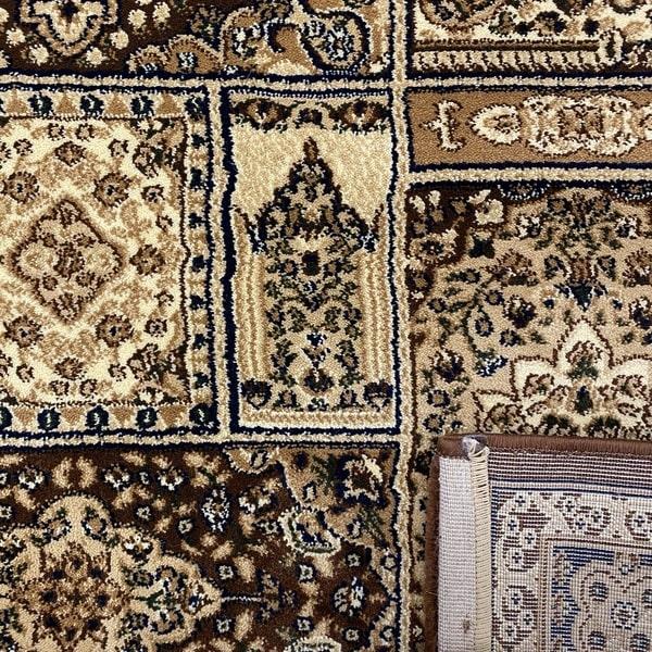 Класически килим – Корона 268 Кафяв - детайл - 3