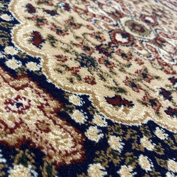 Класически килим – Корона 268 Син - детайл - 2