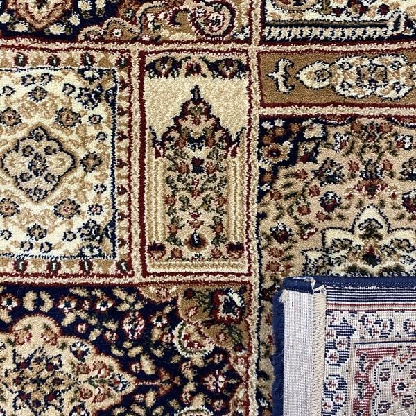Класически килим – Корона 268 Син - детайл - 3