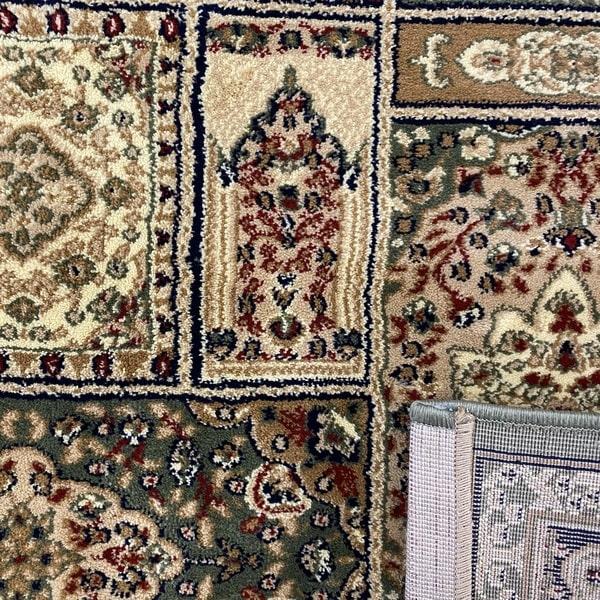 Класически килим – Корона 268 Зелен - детайл - 3