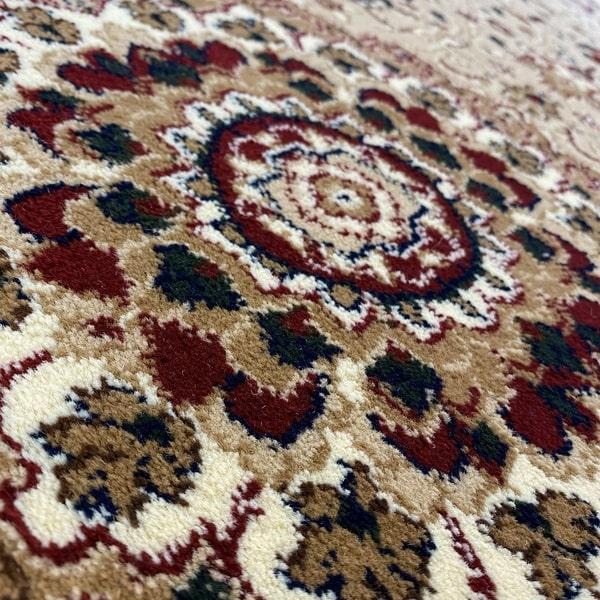 Класически килим – Корона 4306 Бежов - детайл 2