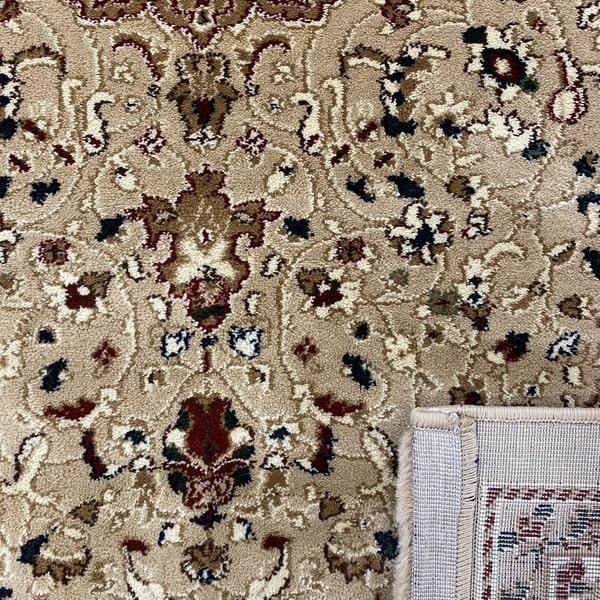 Класически килим – Корона 4306 Бежов - детайл 3