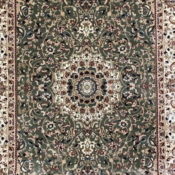 Класически килим – Корона 4306 Зелен - детайл - 1