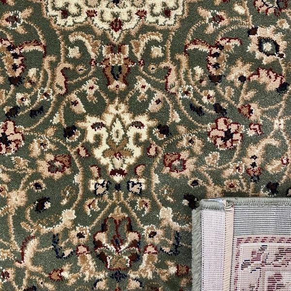 Класически килим – Корона 4306 Зелен - детайл - 3