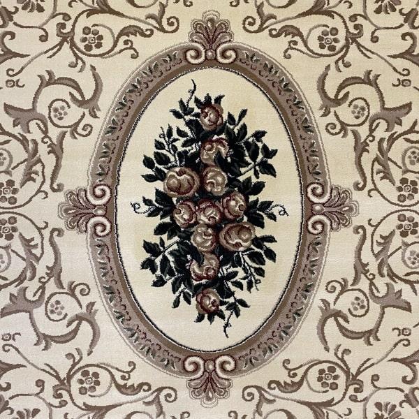 Класически килим – Корона 5261 Крем - детайл - 1
