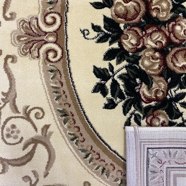 Класически килим – Корона 5261 Крем - детайл - 3