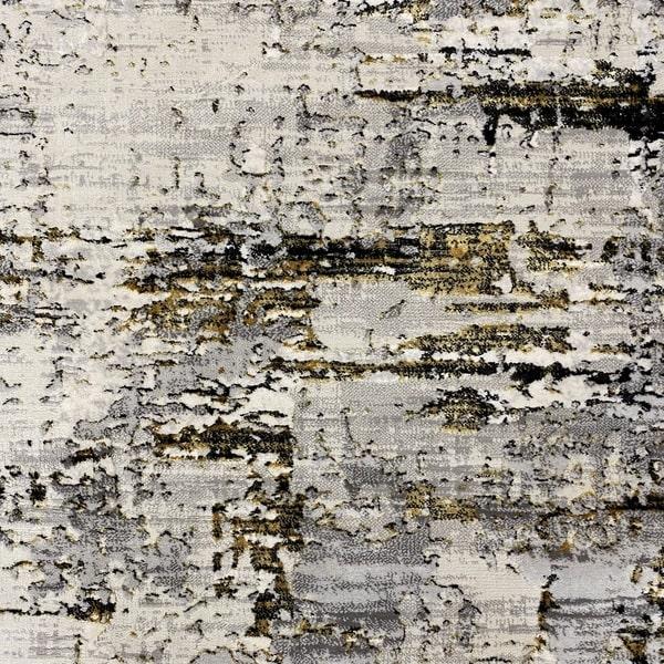 Модерен килим - Алпина 5628 Златен - детайл - 1