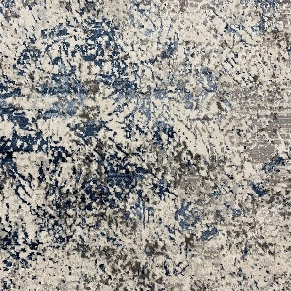 Модерен килим - Алпина 5629 Син - детайл - 1