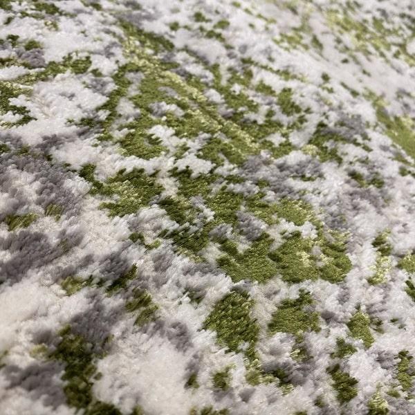 Модерен килим - Алпина 5629 Зелен - детайл - 2