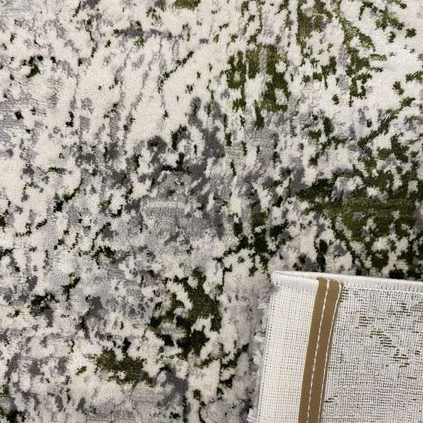 Модерен килим - Алпина 5629 Зелен - детайл - 3