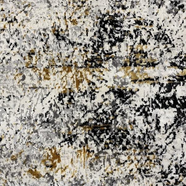 Модерен килим - Алпина 5629 Златен - детайл - 1