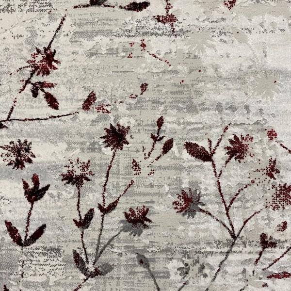Модерен килим - Алпина 5641 Червен - детайл - 1